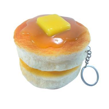 Chocobi Slime Jumbo Pancake Japan Squishy Gantungan Kunci