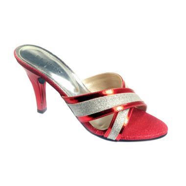 Beauty Shoes 1028 High Heels Sepatu Wanita - Red