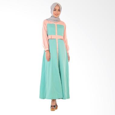 Hanalila Daily Hijab Hanalila Alyna Abaya Gamis - Tosca