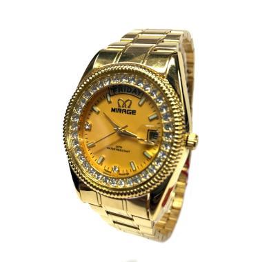 Mirage Rolex T/H pK Jam Tangan Wanita - Gold