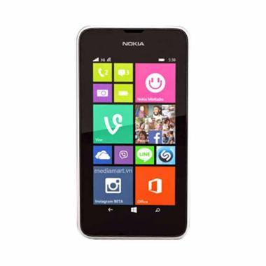 Jual Nokia Lumia 530 Smartphone - White [4GB/ 512 MB] Harga Rp 899000. Beli Sekarang dan Dapatkan Diskonnya.