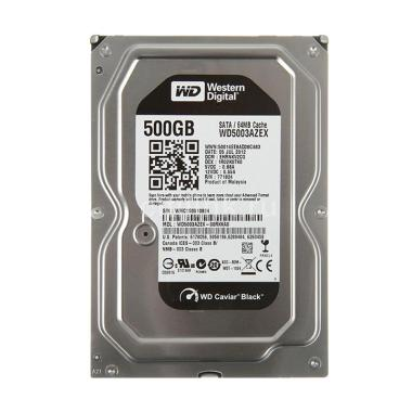 WD Black Harddisk Internal PC [500 GB/3.5 inch/SATA]