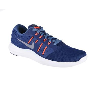 NIKE Men Lunarstelos Sepatu Lari - Blue [844591-401]