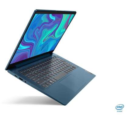 harga Lenovo IdeaPad 5 14IIL05 Notebook - [ i5-1035G1 8GB 512SSD VGA Win10+OHS ] 81YH00K5ID - Light Teal Blibli.com