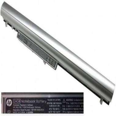 harga Baterai Laptop ORIGINAL Hp LA04, HP Pavilion 14-N, 15-N, HP 248 Silver Blibli.com