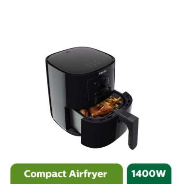harga Philips Essential Airfryer HD9200/90 hitam Blibli.com