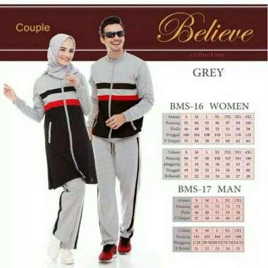 harga Couple Baju Olahraga Believe BMS-17 L TOSCA Blibli.com