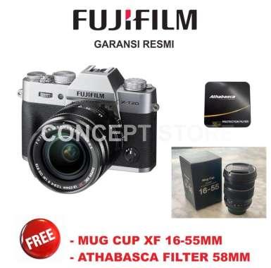 harga Fujifilm X-T20 18-55mm Kamera Mirrorless - Silver Garansi Resmi Silver/ Smoke Blibli.com