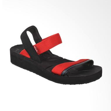 Carvil SIOMI-L Sandal Wanita Black - Red