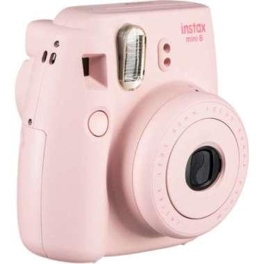 harga Kamera Fujifilm Instax Mini 8 Polaroid New BNIB Garansi Resmi Fujifilm - Merah Muda multicolor Blibli.com