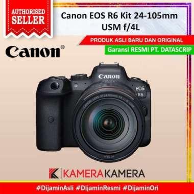 harga KameraKamera CANON EOS R6 Kit 24 -105mm f/4 L IS USM - Garansi Resmi Blibli.com