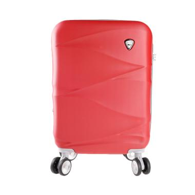 Polo Twin 702 Expandable Trolley Bag - Blood [19 Inch]