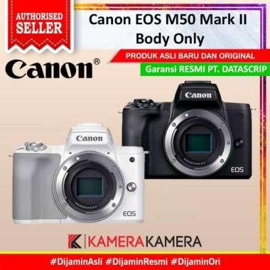 harga KameraKamera Canon EOS M50 Mark II Body Only White Blibli.com