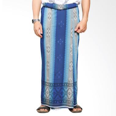 Sarung Mangga Jacquard - Blue Grey JAC0507