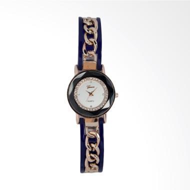 Geneva Analog FIN-250 C Jam Tangan Fashion Wanita - Blue