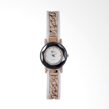 Geneva Analog FIN-250 C Jam Tangan Fashion Wanita - White