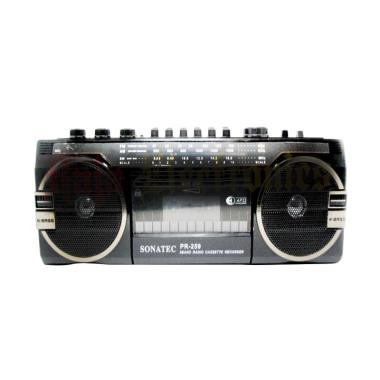 harga Sonatex PR-259 Radio Cassette Recorder Tape USB-SD Card AM-FM Radio Player Blibli.com