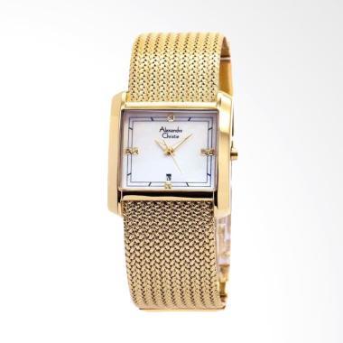 Alexandre Christie 2564  Jam Tangan Wanita - Gold