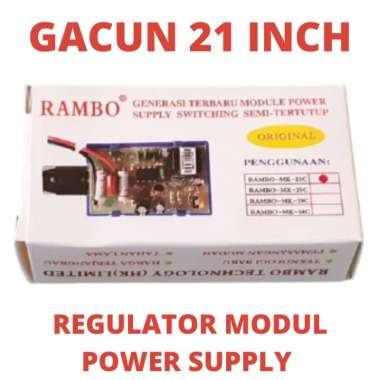GACUN TV 21 INCH 21INCH REGULATOR MODULE PSU KACUN TABUNG LED LCD ORI ORY MODUL POWER SUPPLY