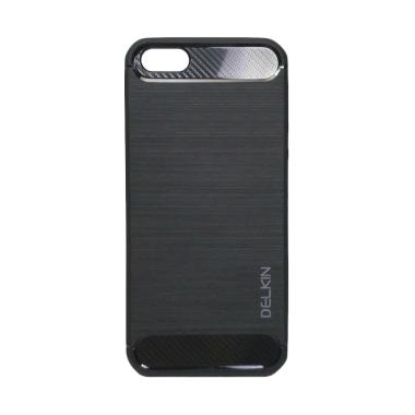 Delkin Slim Carbon Armor Casing for Vivo V5 Plus or X9 - Hitam