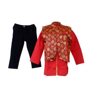 GBS Sens.3in1 Koko Batik Wool Vest Large - Red