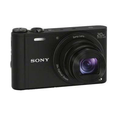 SONY Cyber-shot DSC-WX350 Kamera Pocket - Hitam