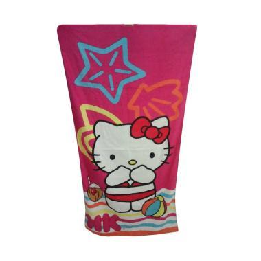 Hello Kitty Beach HK Handuk Mandi [70  x 140 cm]