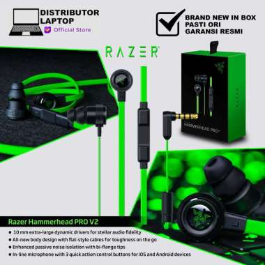 harga Razer Headphone Hammerhead Pro V2 Blibli.com