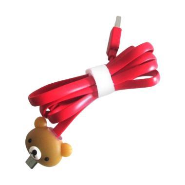 Mediatech Karakter 64976 Micro USB  ... ung or Blackberry - Merah