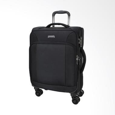 Hush Puppies 693133 Expandable Soft Spinner Case Trolly Bag [25 Inch]