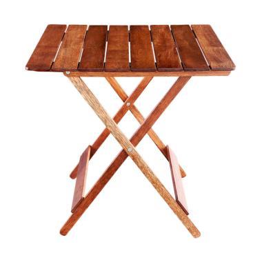 Oscar Furniture Tivoli Meja Makan Lipat - Cocoa
