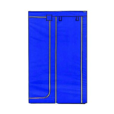 Nine box NBX-DW Lemari Baju Portable - Biru