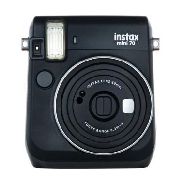 Fujifilm Instax Mini 70 Kamera Polaroid - Hitam