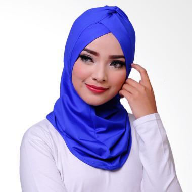 ATTIQAHIJAB Swimmer Sport Jilbab Instant - Blue