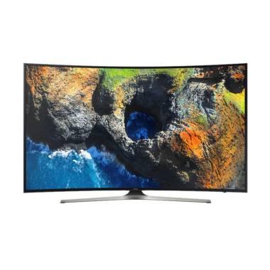 Samsung UA55MU6300KPXD LED TV - Hitam [55 Inch/Khusus Jadetabek]