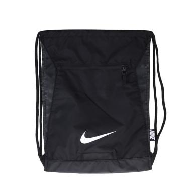 NIKE Unisex Football/Soccer Alpha Gmsk Drawstring Bag Olahraga - Black  BA5256-010