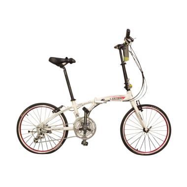 Vivacycle Camaro Alloy Folding Sepeda - White