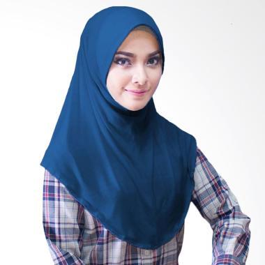 Milyarda Hijab Bergo Jersey Jilbab Instan - Dongker
