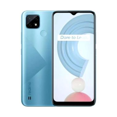 harga Realme C21 Smartphone [3GB-32GB] Cross Blue Blibli.com