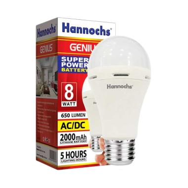 Hannochs Genius Emergency Lampu LED [8 W]