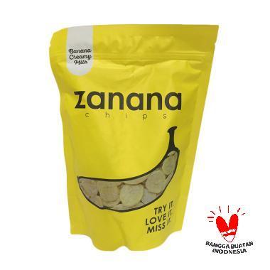 Zanana Chips Keripik Pisang - Creamy Milk