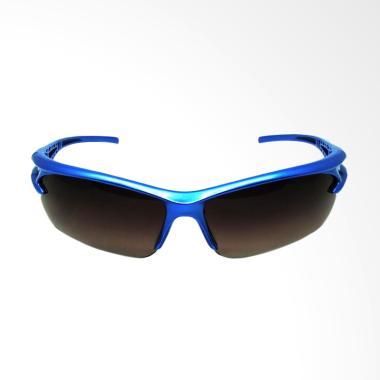 QCF Kacamata Anti Silau Riding Glas ... / Kantong Kacamata - Biru