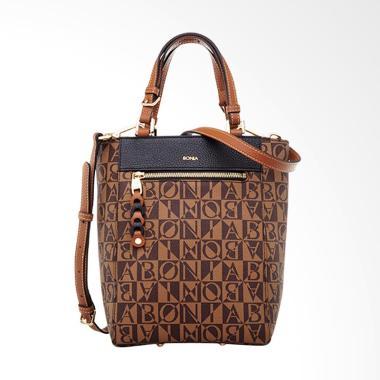 Bonia Milagros Tote Bag - Black [Size M]