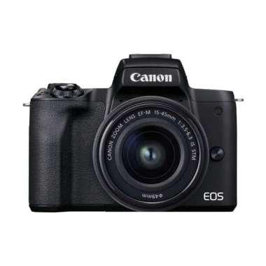 harga Canon EOS M50 Mark II Kit 15-45mm Black Blibli.com