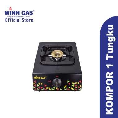 harga Winn Gas Kompor 1 Tungku W199 Burner Kuningan Blibli.com