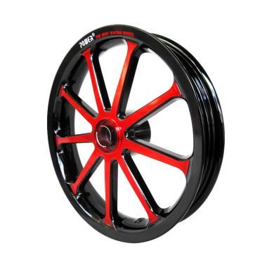 Power Sun Set Velg Motor for Vario 125 - Black Red [14 Inch]