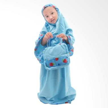 Rasya 2-9th Mukena Anak - Baby Blue