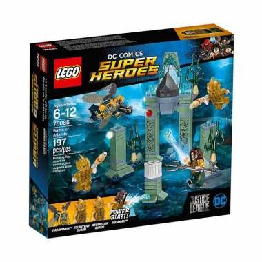 LEGO DC Comics Super Heroes 76085 Battle of Atlantis Mainan Blocks