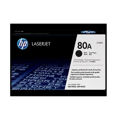 HP Toner Catridge for HP LaserJet Pro M401/M425 - Black [80A/2.7K]