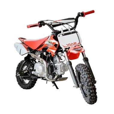 harga Viar Cross X 70 Mini Trail Sepeda Motor [OTR Jaboser] Red White Bogor Blibli.com